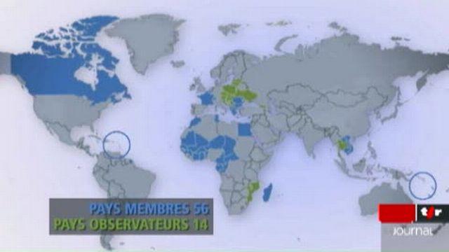 La Francophonie regroupe aujourd'hui 70 pays et plus de 200 millions de personnes