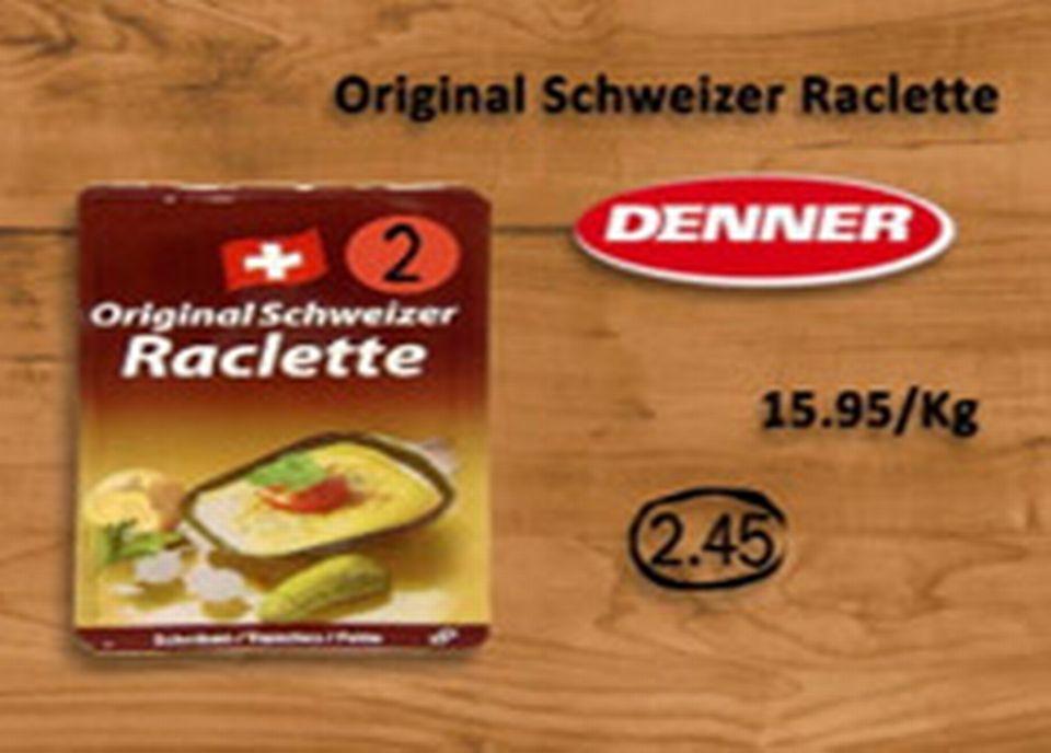 Denner, Original Schweizer Raclette