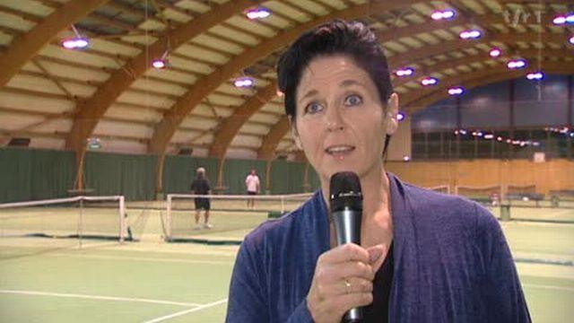 Tennis: itw Christiane Jolissaint, membre comité central Swiss Tennis