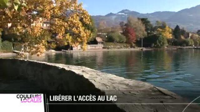 Tour-de-Peilz (VD): une initiative populaire est lancée pour améliorer l'accès public aux rives du lac