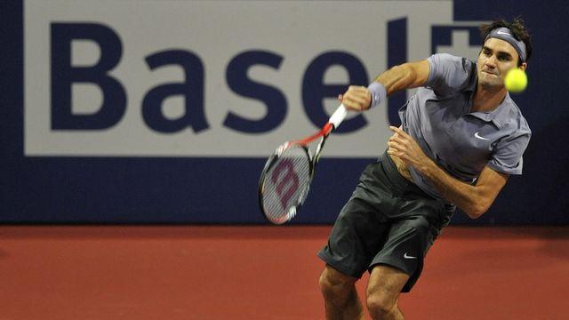 Roger Federer a breaké d'entrée au 2ème set. [Georgios Kefalas - Keystone]