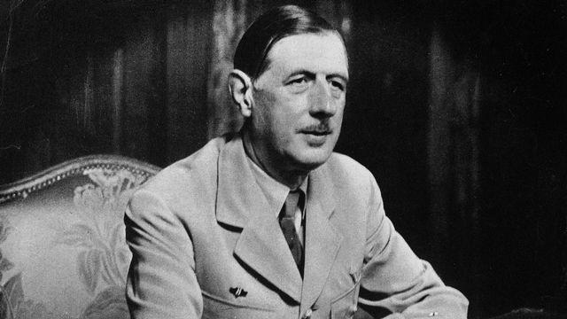 Charles de Gaulle [Roger-Viollet/AFP]
