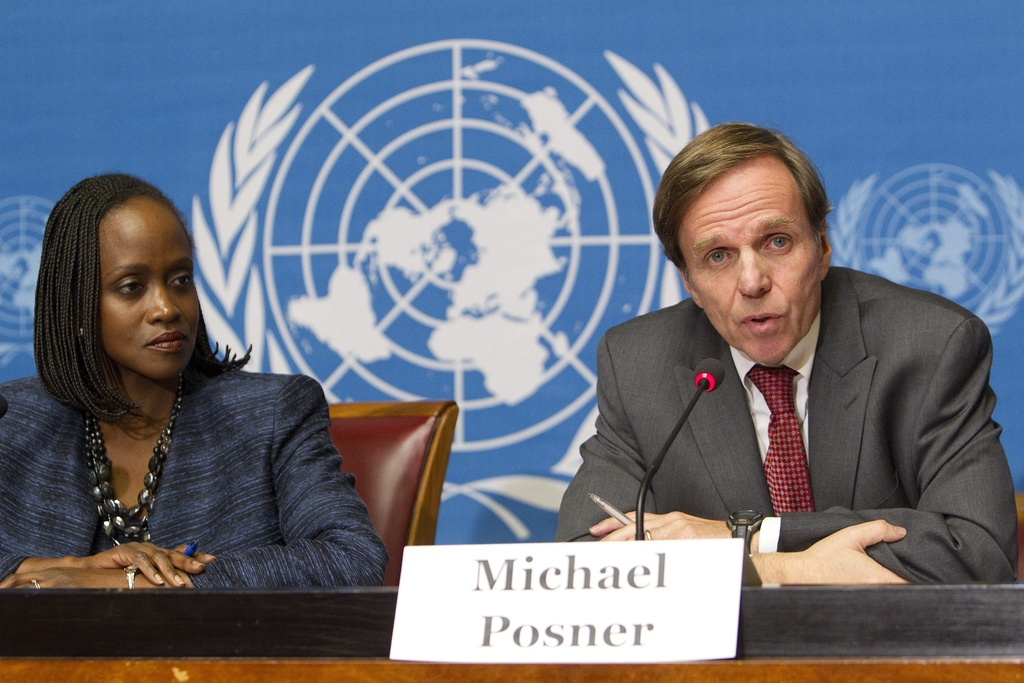 Michael Posner et Esther Brimmer