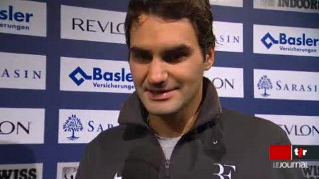 Tennis / Swiss Indoors de Bâle: Roger Federer a décroché son billet pour la finale