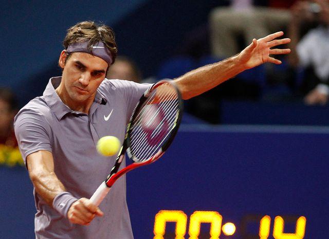 Federer a montré une volonté à toute épreuve. [Reuters]