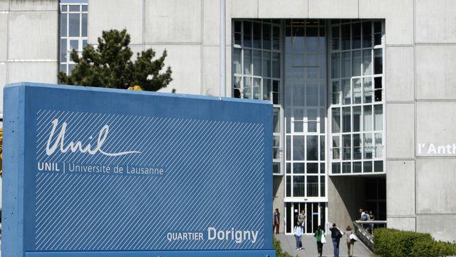 L'UNIL refuse de louer ses locaux à l'UDC pour son congrès du 4 décembre. [Laurent Gillieron - Keystone]