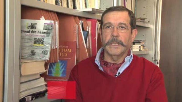 Interview de Alain Aspect, physicien