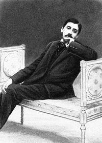 Photo de l'écrivain Marcel Proust prise vers 1896. [AFP]