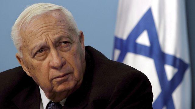 L'ancien leader israélien a été frappé par une crise cardiaque le 4 janvier 2006.  [Jim Hollander   - Keystone]