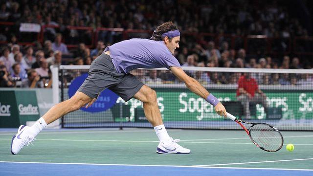 Federer s'est montré beaucoup trop imprécis en fin de match. [Camille Farges - Keystone]