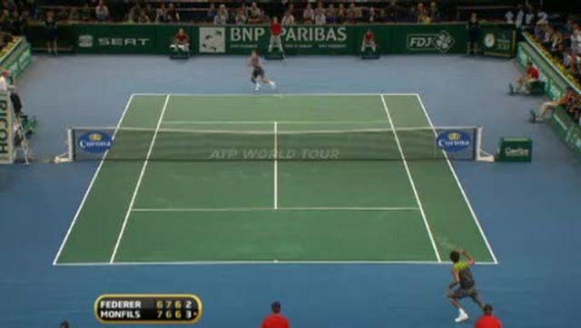 Tennis/ ATP Paris-Bercy : Roger Federer s'est incliné en 3 manches face à Gaël Monfils