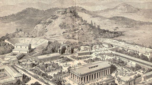 Grèce antique - Ville d'Olympie
