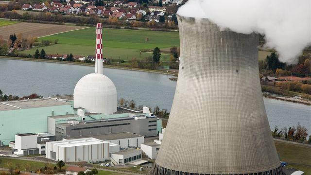 La centrale de Leibstadt en Argovie est l'un des deux sites nucléaires en Suisse a recourir au combustible provenant de Russie. [Alessandro Della Bella - Keystone]