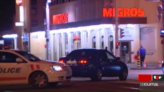 Thônex (GE): des malfrats s'en prennent au bureau de change de la banque Migros