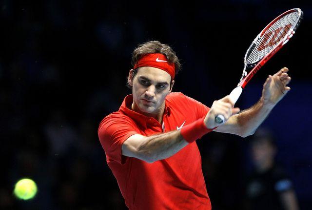 Roger Federer a totalement éclipsé Djokovic. [Kirsty Wigglesworth - Keystone]
