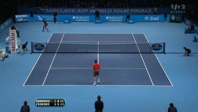 Tennis / Masters (demi-finale): on aura droit à la finale de rêve Nadal-Federer! Le suisse s'est montré étincelant contre Novak Djokovic (6-1 6-4)