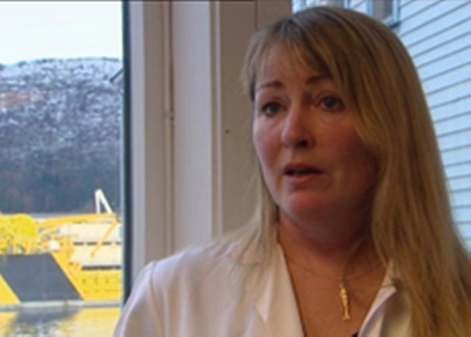 Anne Katrine Lundebye Haldorsen, directrice des recherches sur la sécurité alimentaire
