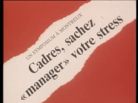 Stress: Attention danger