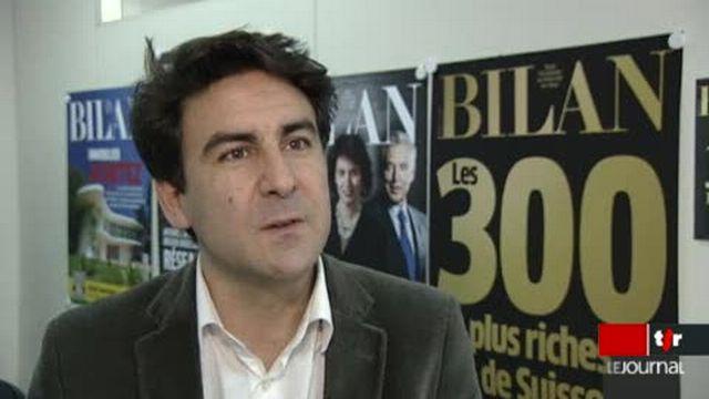 Grosses fortunes de Suisse: le magazine Bilan publie chaque année une liste de 300 noms