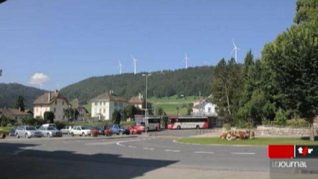 VD: le projet d'installer sept éoliennes en dessus du village de Sainte-Croix ne fait pas l'unanimité