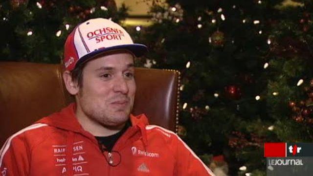 Ski Alpin: Daniel Albrecht nous livre ses impressions au moment de reprendre la compétition, après sa terrible blessure