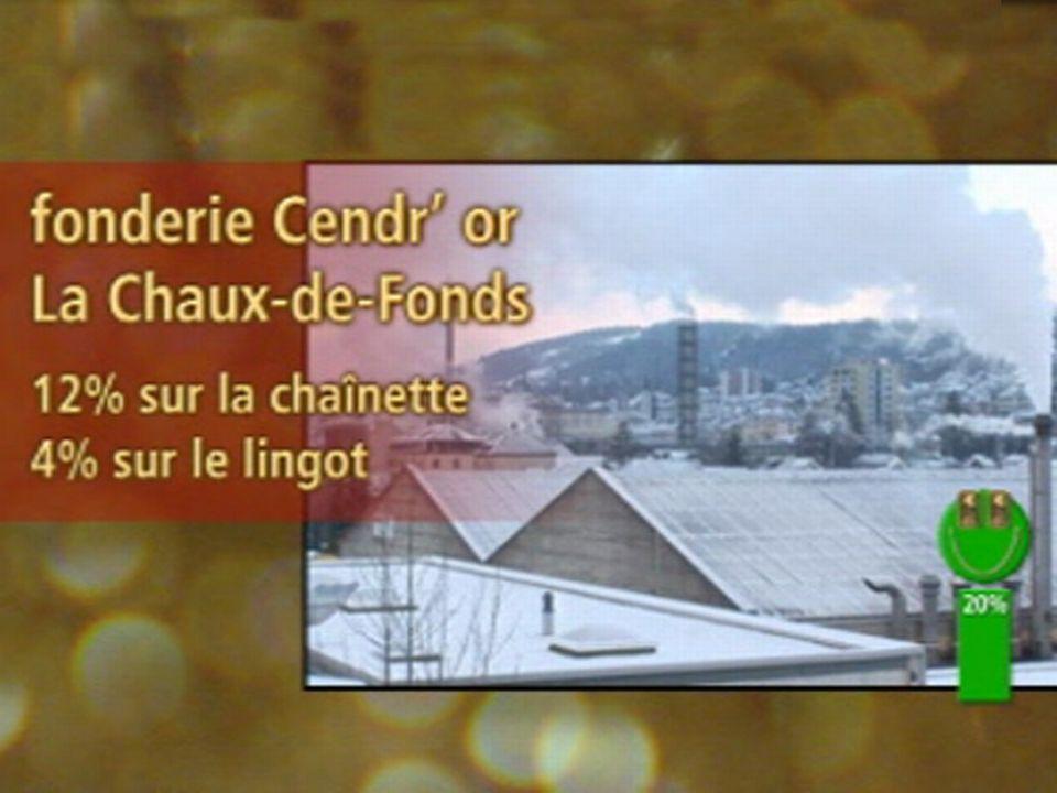 Vert: Fonderie Cendr'or, La Chaux-de-Fonds