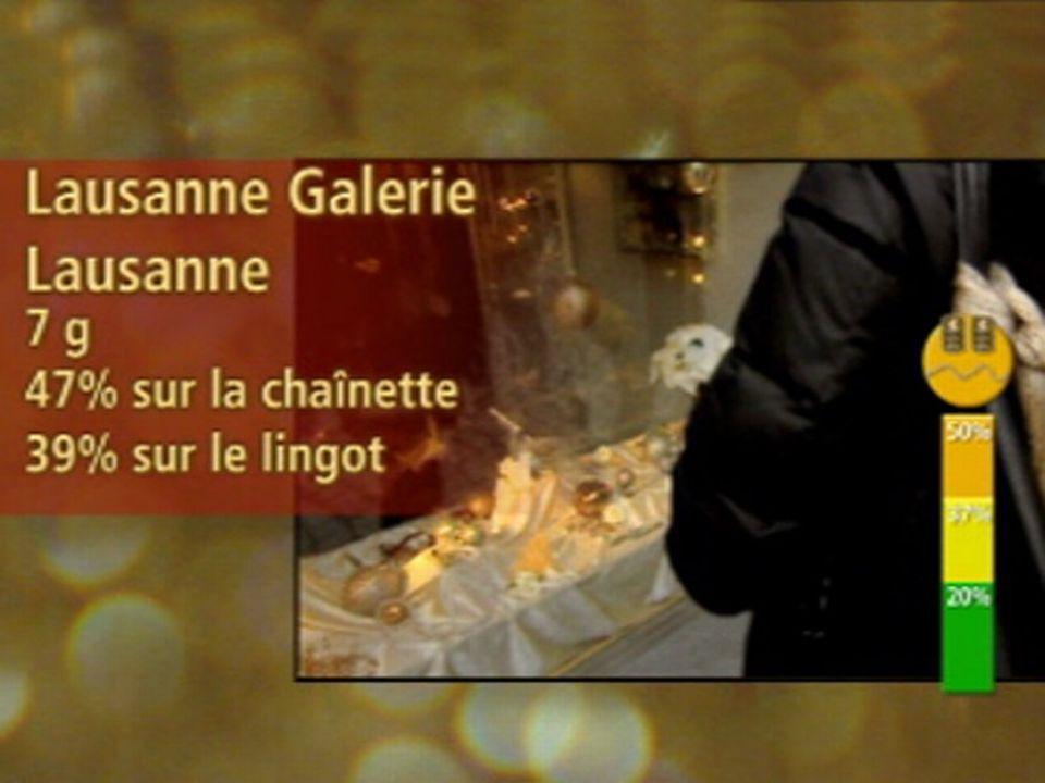 Orange: Lausanne Galerie, rue Cheneau-de-Bourg, Lausanne