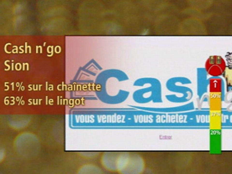 Rouge: Cash n'go, Sion
