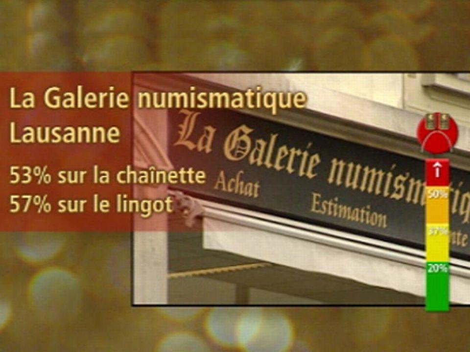 Rouge: La Galerie numismatique, Lausanne