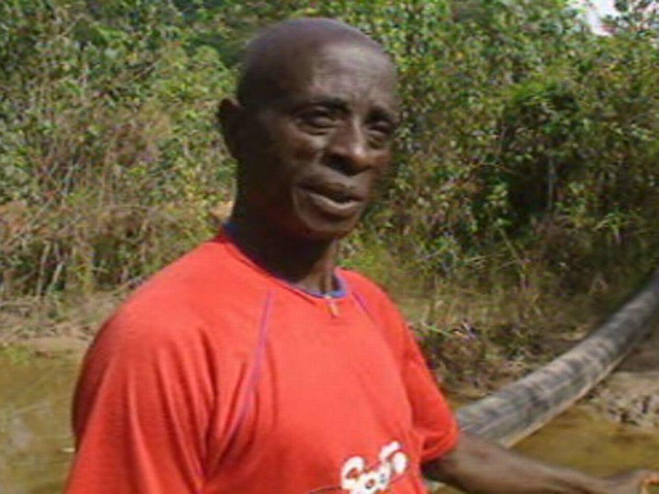 Dei Nkumah, habitant de Dumasi