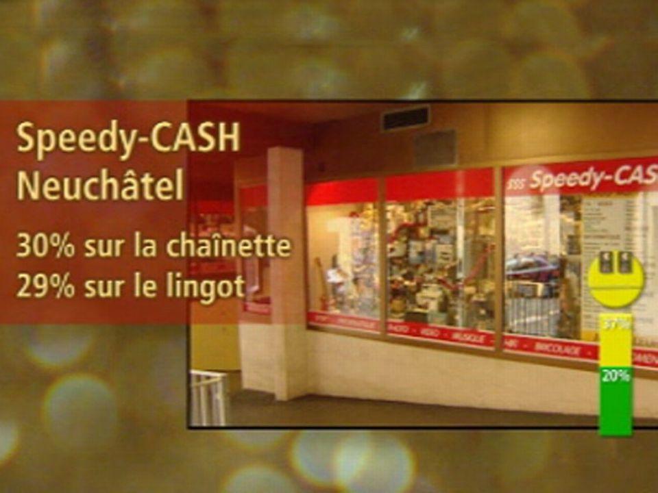 Jaune: Speedy-Cash, Neuchâtel