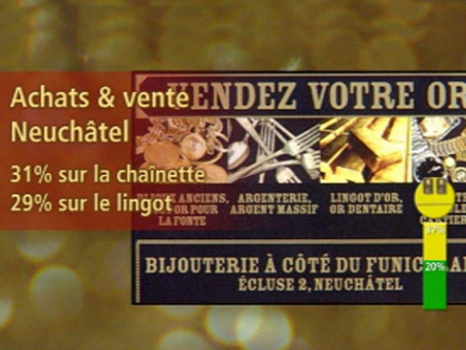 Jaune: Achats & vente, Neuchâtel
