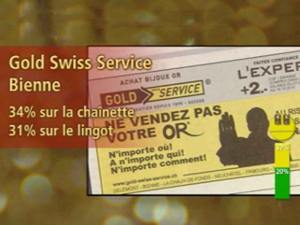 Jaune: Gold Swiss Service, Bienne