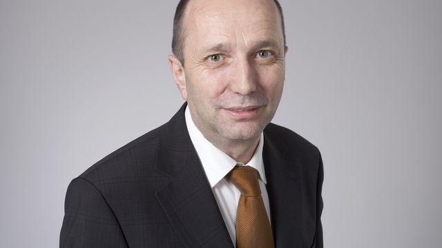 Jean-René Germanier, président du Conseil national en 2011. [Keystone]