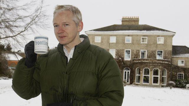 Julian Assange est toujours assigné à résidence en Grande-Bretagne. [AP Photo/Kirsty Wigglesworth - Keystone]