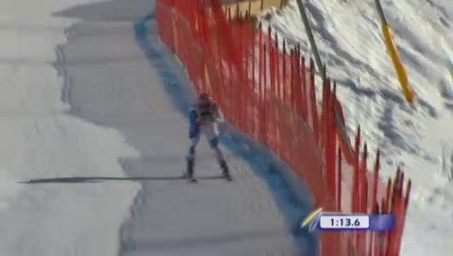 Ski alpin / descente du Lauberhorn: Didier Cuche battu d'un cheveu