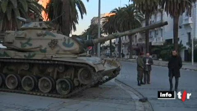 Tunisie: la capitale est toujours sous haute tension suite au départ du président Ben Ali