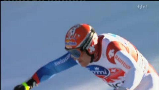 Ski alpin / Wengen: Didier Cuche manque la victoire en descente pour 14 centièmes