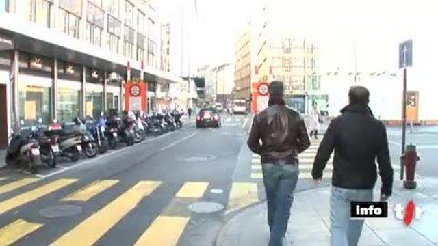 GE: lundi matin, quelques Tunisiens de Suisse ont tenté de bloquer un client qui, selon eux, serait venu vider les comptes de la famille Ben Ali