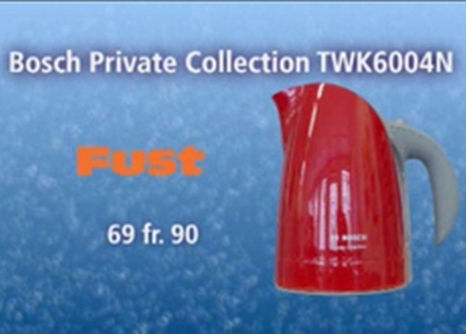 Bosch Private Collection TWK6004N