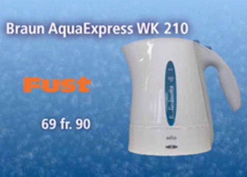 Braun AquaExpress
