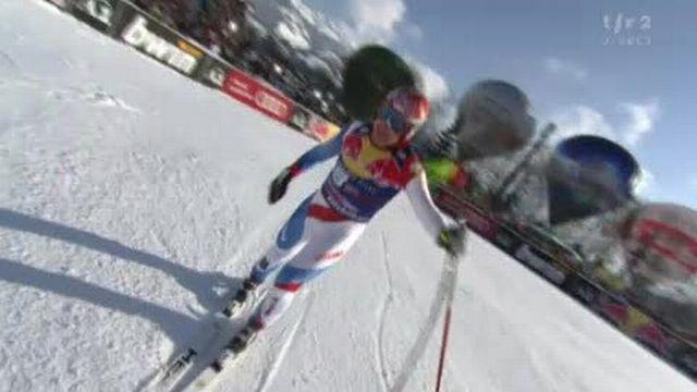Ski alpin / Descente de Kitzbühel: Didier Cuche est bel et bien le roi de la Streif. Grand favori, le skieur des Bugnenets réalise une véritable démonstration.