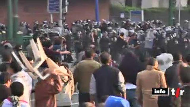 Egypte: des manifestations massives se déroulent au Caire et dans plusieurs villes du pays