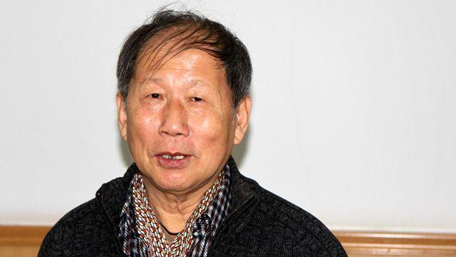 Xing Hua, directeur du centre des études européennes à l'Institut Chinois des Etudes Internationales de Pékin. [Alain Arnaud - RTS]