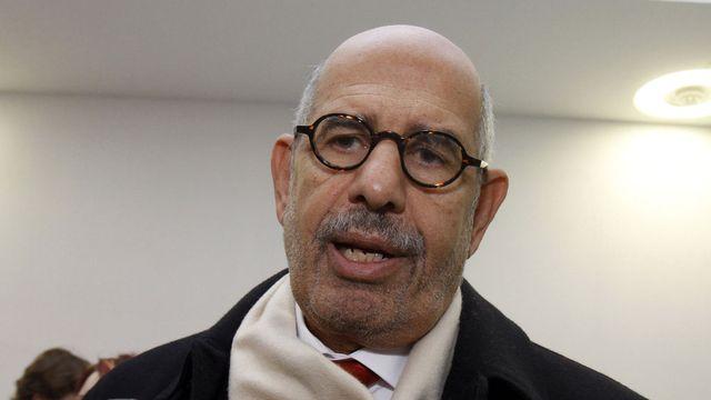 Mohamed El Baradeï, ancien directeur de l'Agence internationale de l'énergie atomique se pose en alternative du pouvoir égyptien. [Ronald Zak - Keystone]