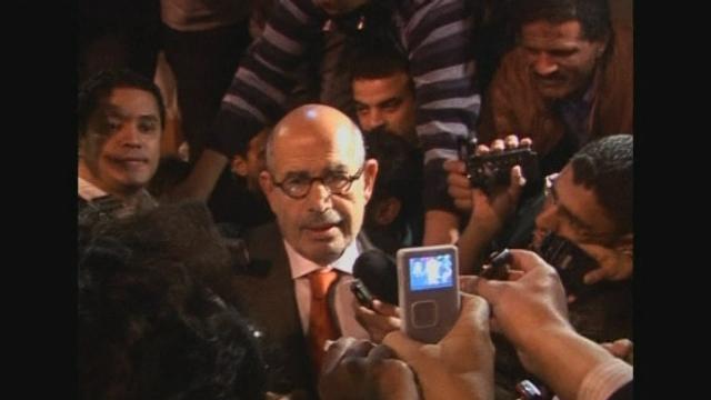 ElBaradei de retour en Egypte
