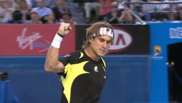 Tennis / Open d'Australie (2e demi-finale): Mais Ferrer est breaké avant de refaireà son tour le break sur un échange magnifique