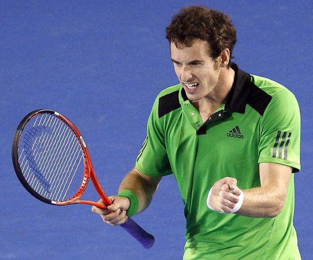 Andy Murray disputera la finale à Melbourne pour la 2e année de suite.  [Dennis M.Sabangan - Keystone]