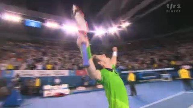 Tennis / Open d'Australie (2e demi-finale): Ferrer - Murray. la 4e manche se joue, comme la 2e, au tie-break