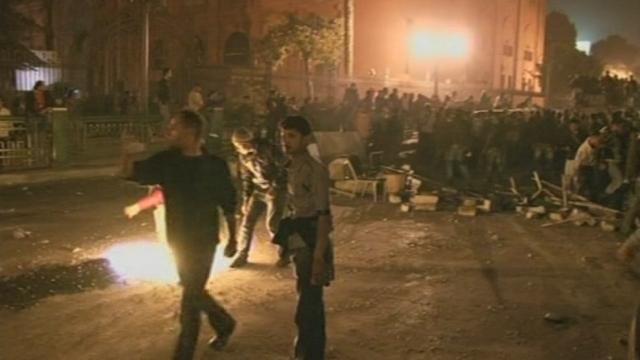 Situation anarchique en Egypte
